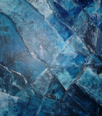 51 - 70x60, acryl på lærred